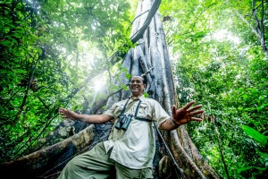 The Datai Langkawi - Irshad Mubarak - the resort's exclusive naturalist