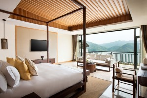 Alila Anji - Accommodation - Villa - Lake View Villa Bedroom