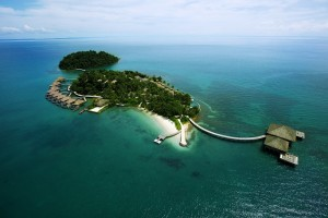 Song Saa Private Island - Aerial Shot