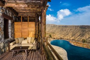 Alila Jabal Akhdar - Accommodation - Ridge View - Balcony