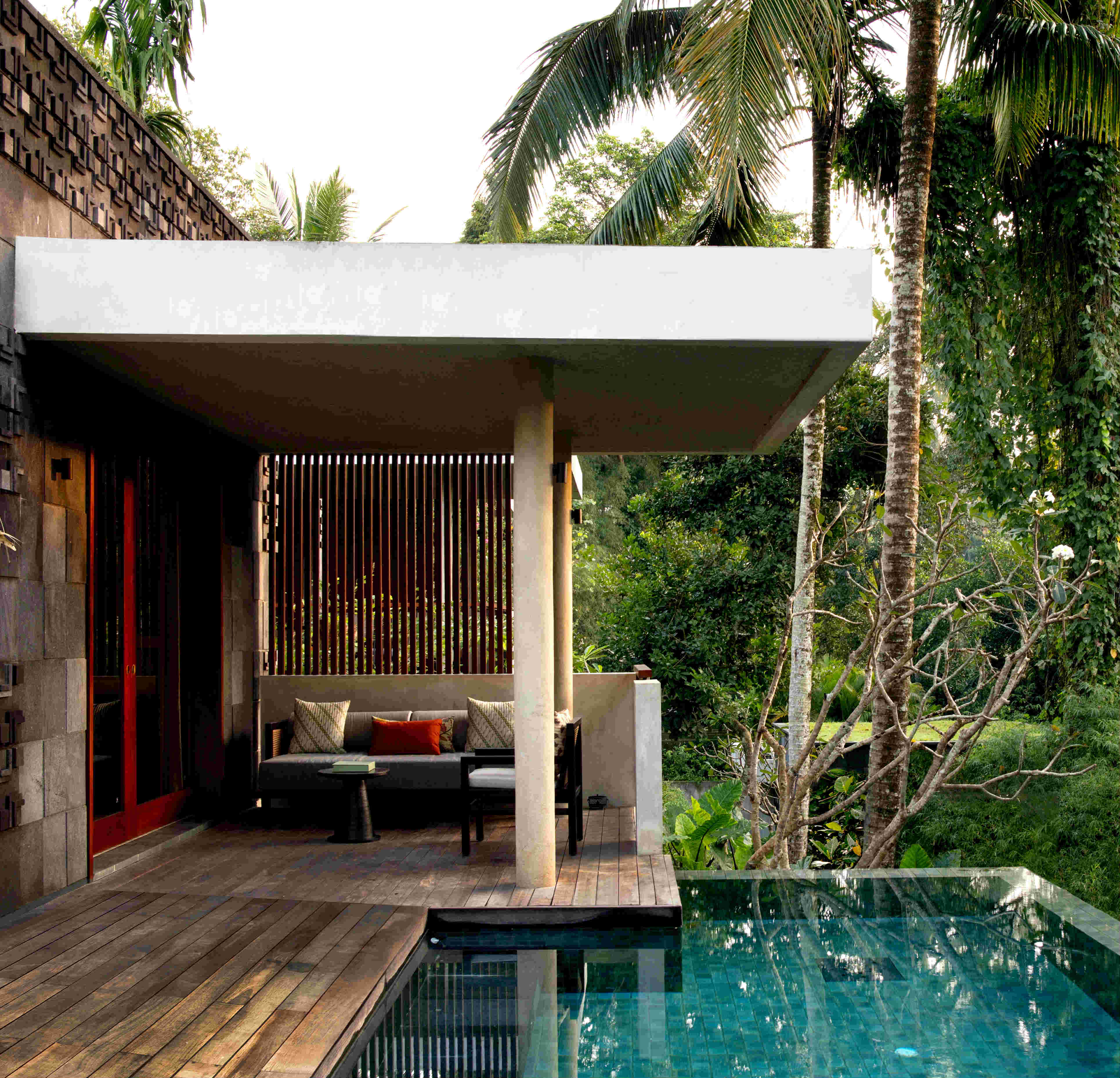 Six new rainforest terrace tree villas launches alila for Garden pool villa ubud