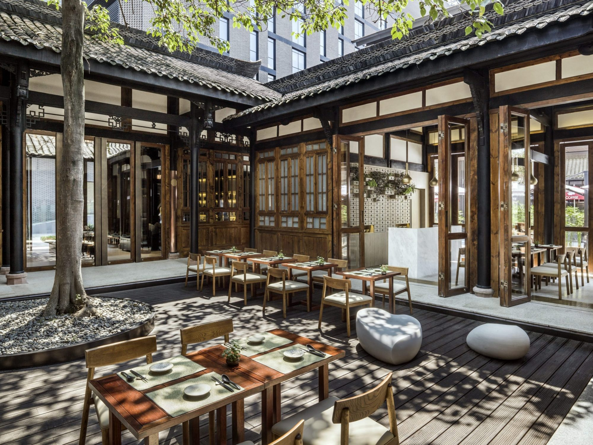 The temple house chengdu named the no 1 city hotel in for Special hotels in the world