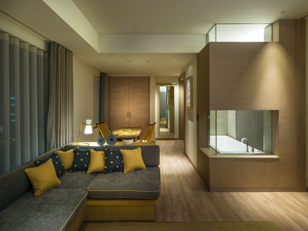 Zentis Osaka - Suite Living Room