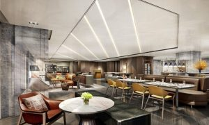 Wilson Associates mesm Tokyo, Autograph Collection Club Lounge